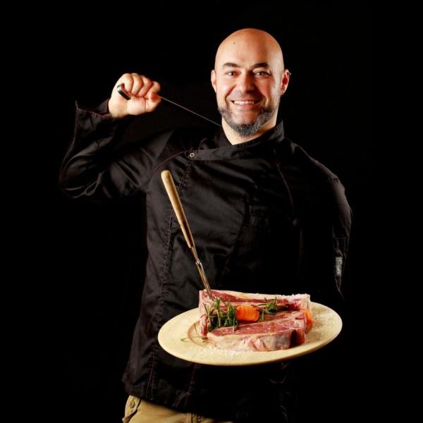 Lo Chef Fabrizio Boccafogli